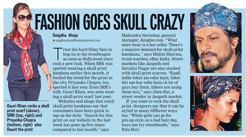 bollywood celebs go skull crazy