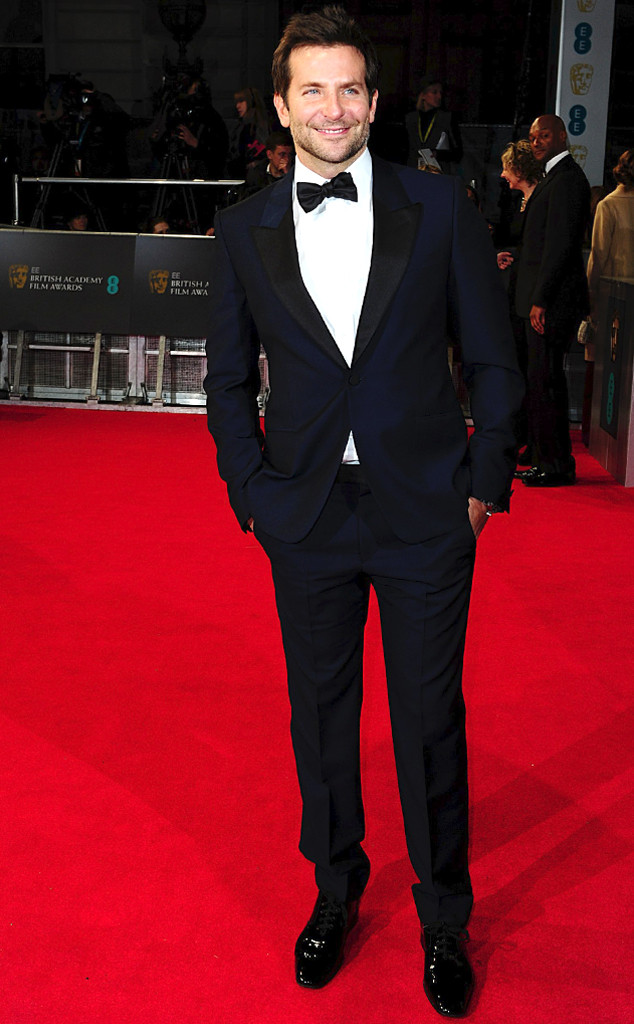 bradley cooper in amq at bafta
